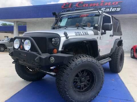 2007 Jeep Wrangler Unlimited for sale at El Camino Auto Sales Gainesville in Gainesville GA