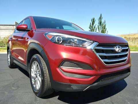 2018 Hyundai Tucson for sale at AUTOMOTIVE SOLUTIONS in Salt Lake City UT