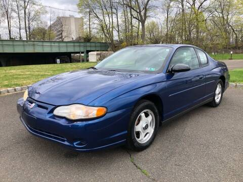 2004 Chevrolet Monte Carlo for sale at Mula Auto Group in Somerville NJ