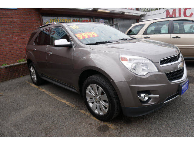2010 Chevrolet Equinox for sale at MICHAEL ANTHONY AUTO SALES in Plainfield NJ