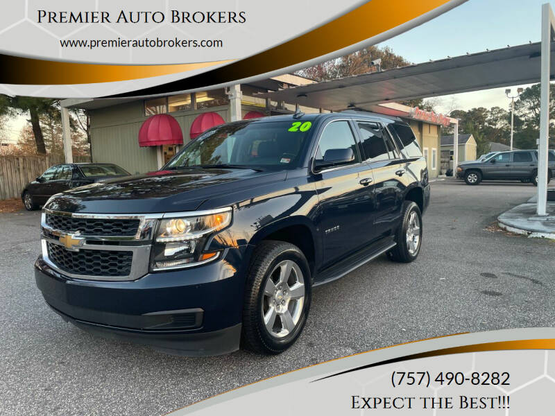 2020 Chevrolet Tahoe for sale at Premier Auto Brokers in Virginia Beach VA