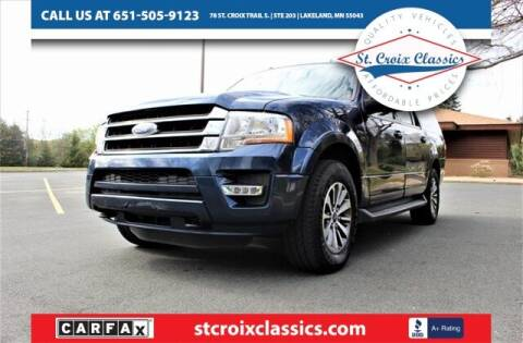 2017 Ford Expedition EL for sale at St. Croix Classics in Lakeland MN