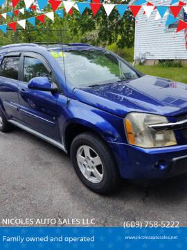 2006 Chevrolet Equinox for sale at NICOLES AUTO SALES LLC in Cream Ridge NJ