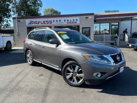 2015 Nissan Pathfinder for sale at PAYLESS CAR SALES of South Amboy in South Amboy NJ