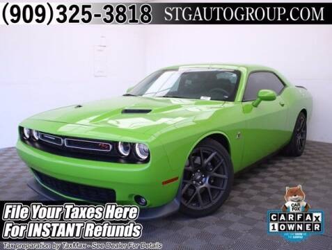 2017 Dodge Challenger for sale at STG Auto Group in Montclair CA