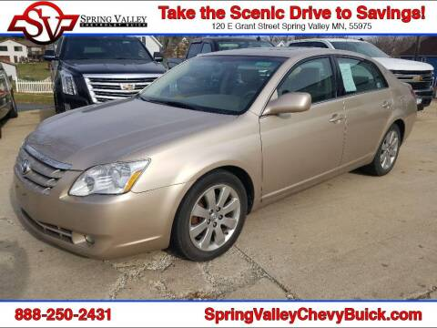 2007 Toyota Avalon for sale at Spring Valley Chevrolet Buick in Spring Valley MN