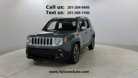 2018 Jeep Renegade for sale at NJ State Auto Used Cars in Jersey City NJ