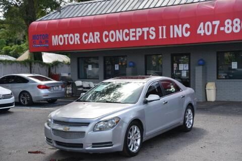 2012 Chevrolet Malibu for sale at Motor Car Concepts II - Apopka Location in Apopka FL