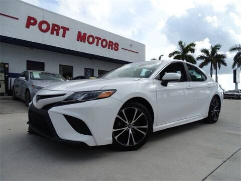 2018 Toyota Camry for sale at Automotive Credit Union Services in West Palm Beach FL