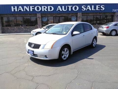 2008 Nissan Sentra for sale at Hanford Auto Sales in Hanford CA