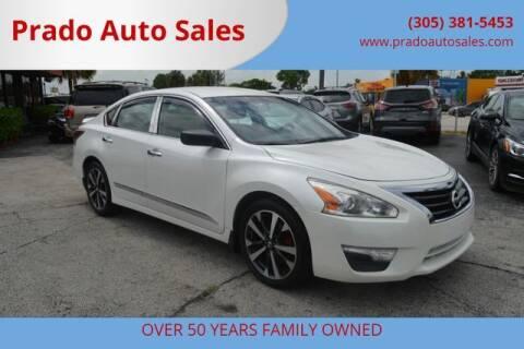 2014 Nissan Altima for sale at Prado Auto Sales in Miami FL