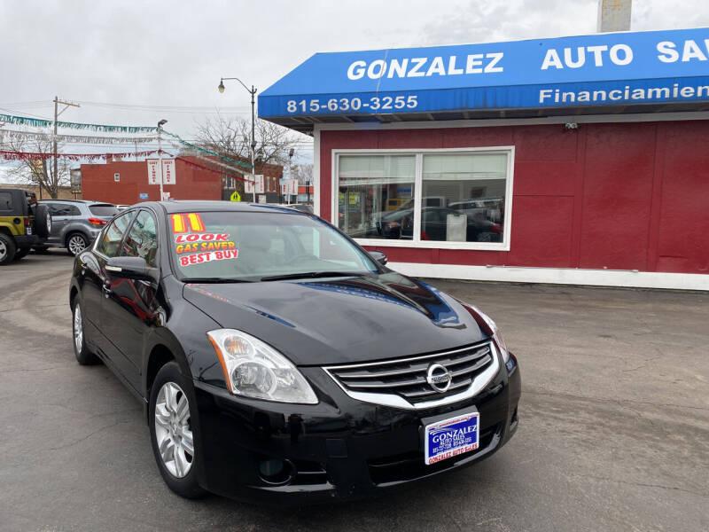 2011 Nissan Altima for sale at Gonzalez Auto Sales in Joliet IL