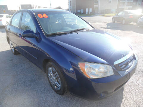 2006 Kia Spectra for sale at VEST AUTO SALES in Kansas City MO