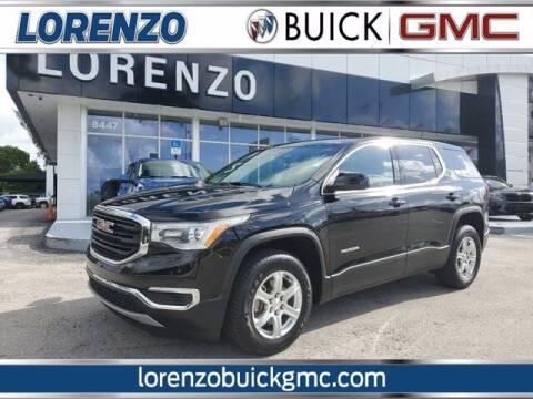 2019 GMC Acadia for sale at Lorenzo Buick GMC in Miami FL