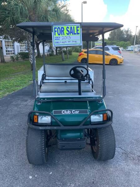 2013  (Solar) Club Car for sale at WHEELZ AND DEALZ, LLC in Fort Pierce FL