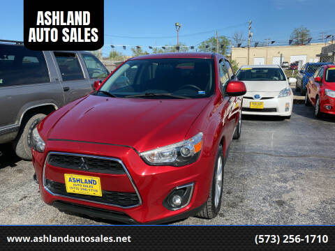 2015 Mitsubishi Outlander Sport for sale at ASHLAND AUTO SALES in Columbia MO