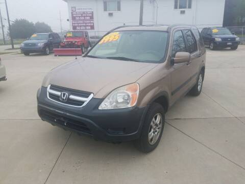 2002 Honda CR-V for sale at Kenosha Auto Outlet LLC in Kenosha WI