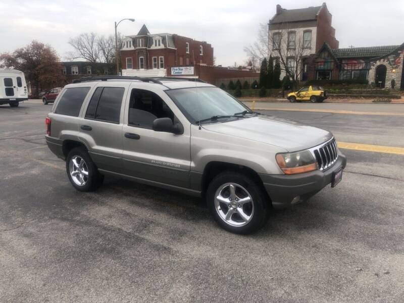 2002 Jeep Grand Cherokee for sale at DC Auto Sales Inc in Saint Louis MO