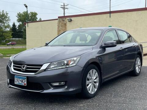 2015 Honda Accord for sale at North Imports LLC in Burnsville MN