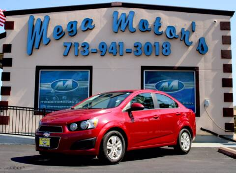2013 Chevrolet Sonic for sale at MEGA MOTORS in South Houston TX