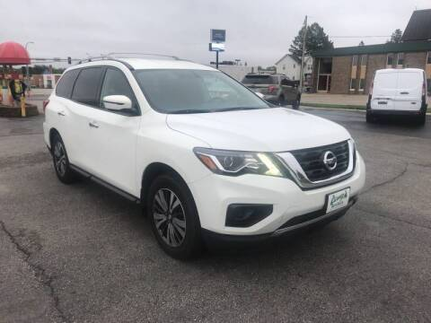 2017 Nissan Pathfinder for sale at Carney Auto Sales in Austin MN