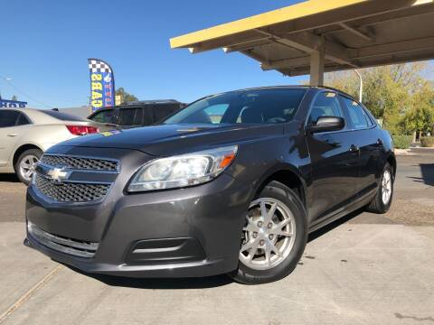 2013 Chevrolet Malibu for sale at DR Auto Sales in Glendale AZ