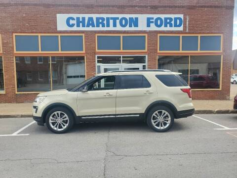 2018 Ford Explorer for sale at Chariton Ford in Chariton IA