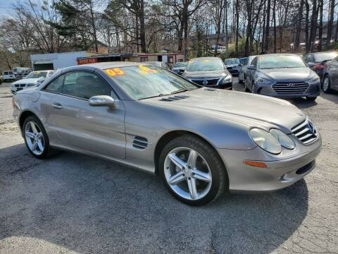 2005 Mercedes-Benz SL-Class for sale at Import Plus Auto Sales in Norcross GA