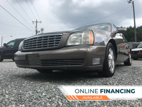 2003 Cadillac DeVille for sale at Prime One Inc in Walkertown NC
