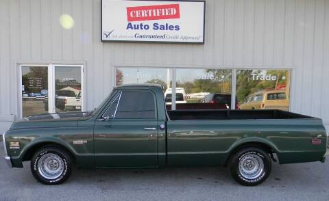 1972 Chevrolet C/K 10 Series for sale at Certified Auto Sales in Des Moines IA