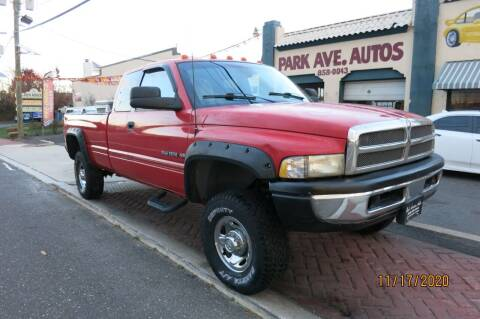 1997 Dodge Ram Pickup 2500 for sale at PARK AVENUE AUTOS in Collingswood NJ