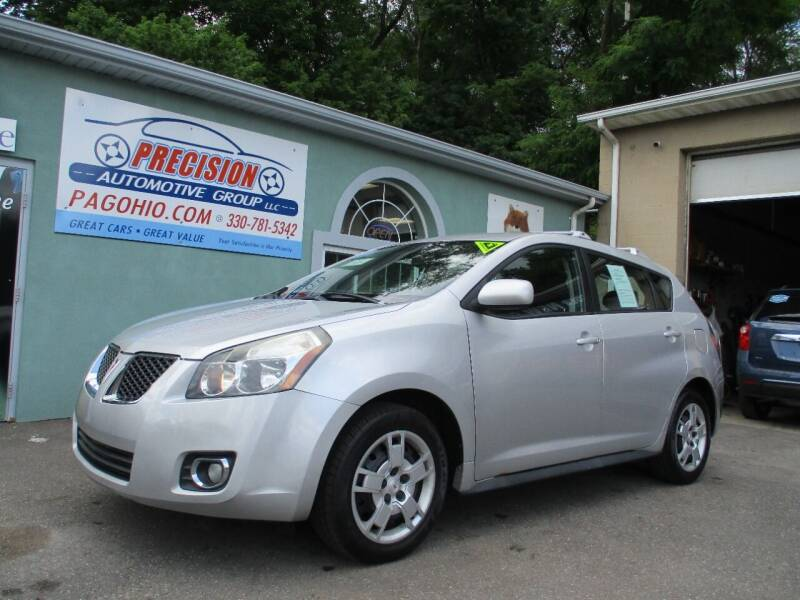 2009 Pontiac Vibe for sale at Precision Automotive Group in Youngstown OH