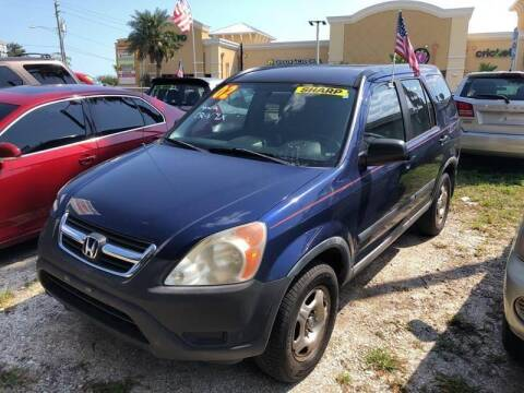 2002 Honda CR-V for sale at Castagna Auto Sales LLC in Saint Augustine FL