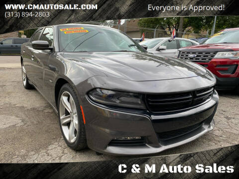 2016 Dodge Charger for sale at C & M Auto Sales in Detroit MI