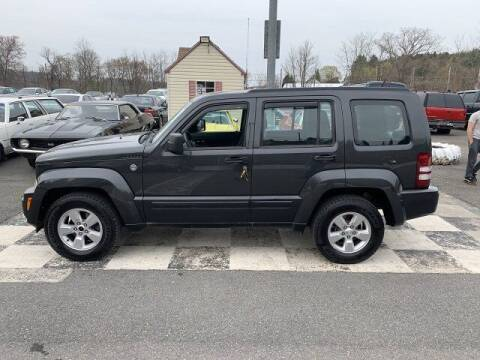 2011 Jeep Liberty for sale at FUELIN FINE AUTO SALES INC in Saylorsburg PA