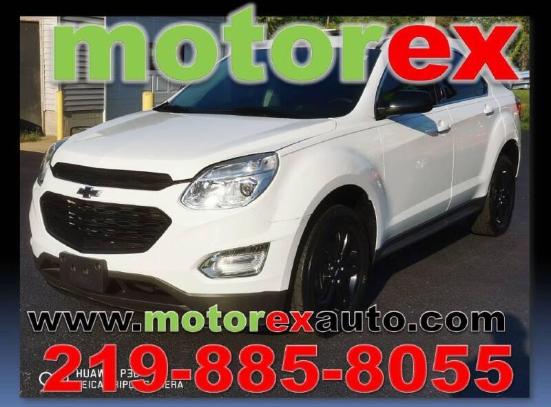 2017 Chevrolet Equinox for sale at Motorex Auto Sales in Schererville IN