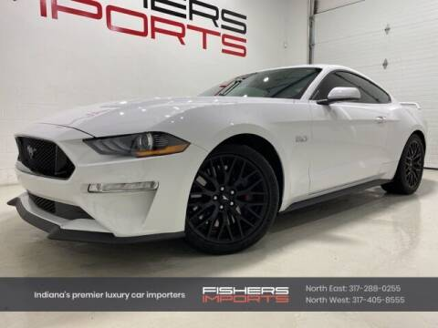 2018 Ford Mustang for sale at Fishers Imports in Fishers IN
