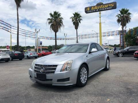 2010 Cadillac CTS for sale at A MOTORS SALES AND FINANCE in San Antonio TX