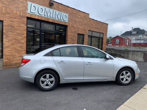 2016 Chevrolet Cruze Limited for sale at Dominic Sales LTD in Syracuse NY