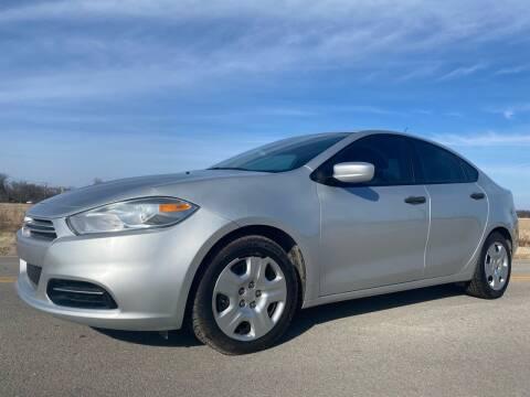 2013 Dodge Dart for sale at ILUVCHEAPCARS.COM in Tulsa OK