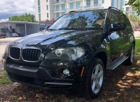 2009 BMW X5 for sale at Meru Motors in Hollywood FL