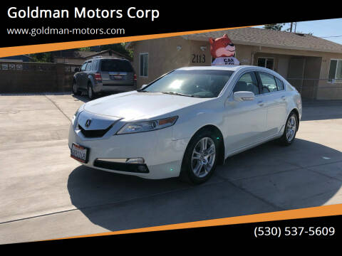 2009 Acura TL for sale at Goldman Motors Corp in Stockton CA