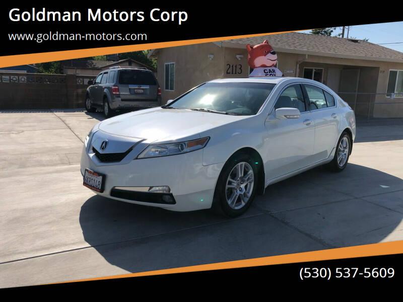 2009 Acura TL for sale at Goldman Motors Corp in Stockton CA