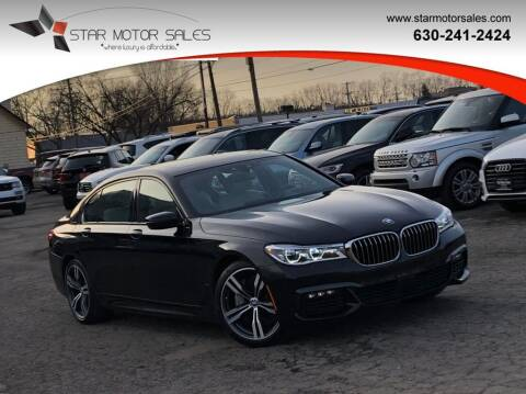 2017 BMW 7 Series for sale at Star Motor Sales in Downers Grove IL