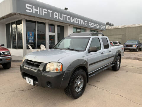 2002 Nissan Frontier for sale at Shift Automotive in Denver CO