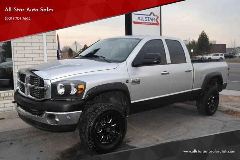 2007 Dodge Ram Pickup 2500 for sale at All Star Auto Sales in Pleasant Grove UT