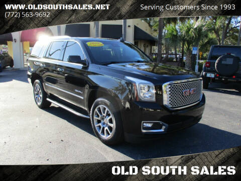 2016 GMC Yukon for sale at OLD SOUTH SALES in Vero Beach FL