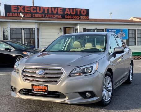 2016 Subaru Legacy for sale at Executive Auto in Winchester VA