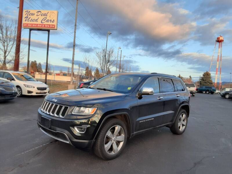 2014 Jeep Grand Cherokee for sale at New Deal Used Cars in Spokane Valley WA