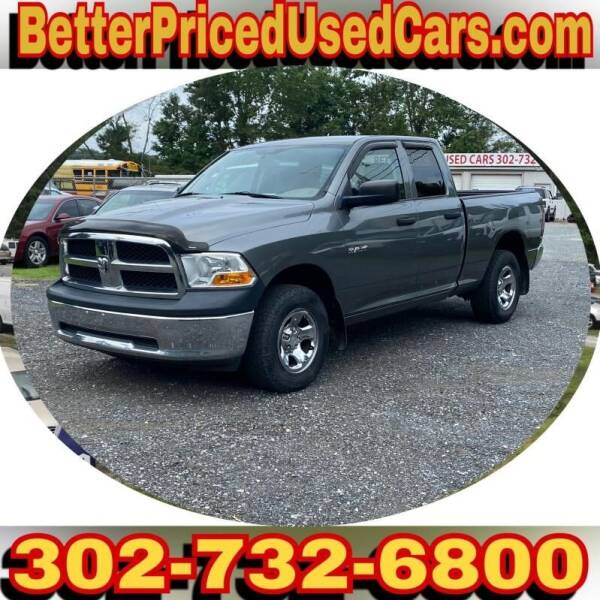 2010 Dodge Ram Pickup 1500 for sale at Better Priced Used Cars in Frankford DE